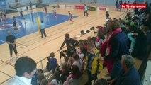 Quimper. Les scolaires mettent l'ambiance au tournoi de volley Pro Master féminin