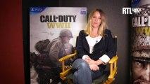 "Ludivine Sagnier, héroïne du prochain ""Call of Duty: WWII"""