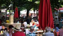 Amazing Munich Food Tour - German CRISPY PORK LEG and Attractions in Munich, Germany!