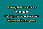HOLDING BACK THE YEARS - SIMPLY RED (KARAOKE)