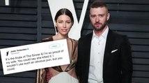 Justin Timberlake Tweets How 'Proud' He is of Jessica Biel