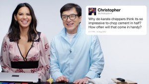 Jackie Chan & Olivia Munn Answer Martial Arts Questions From Twitter