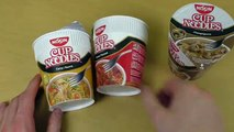 Nissin Cup Noodles [Curry, Tomato, Mushrooms]