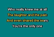 Phil Collins - Against all odds (Karaoke)