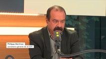 """Philippe Martinez (CGT) : """"Nous devons proposer l'unité syndicale"""""""