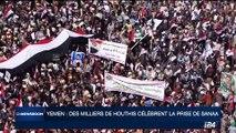 Yemen: des milliers de Houthis célèbrent la prise de Sanaa
