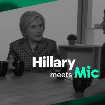 Hillary Clinton meets with Mic to discuss Donald Trump, sexism and her book