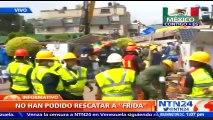 México mantiene la esperanza de encontrar vida bajo los escombros luego de 48 horas del sismo de magnitud 7.1