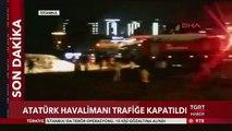 #SONDAKİKA Atatürk Havalimanında özel jet düştü!