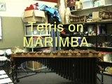 Tetris Type A on Marimba