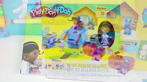 Play Doh Doc McStuffins Docs Clinic Playset Disney Jr Doc McStuffins Lambie Stuffy & Hallie!