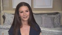 Catherine Zeta-Jones Says Michael Douglas Approves New Line