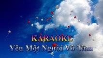 Karaoke Nhạc Trẻ : Yêu Một Người Vô Tâm - Bảo Anh [ No Copyright Music - Remix Music ]