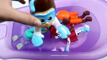 PAW PATROL Bath Paint - Bath Tub Time with The Secret Life of Pets, Orbeez, Learning Colors Mystery