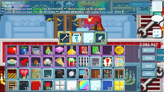Growtopia - Ordering Pizza + Calling Growganoth with a Telephone - video dailymotion