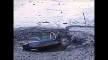 Ce lac au Brésil disparaît dans un trou dans le sol !!