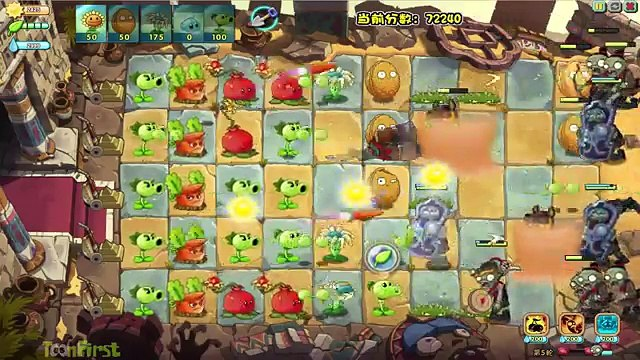Plants Vs Zombies 2: Impossible Endless Waves Daily Challenge! ( China Version)