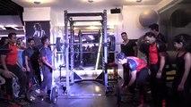 Dual Deadlift & Powerlifting - #HappyFitnessTrainersDay event - YouTube (360p)