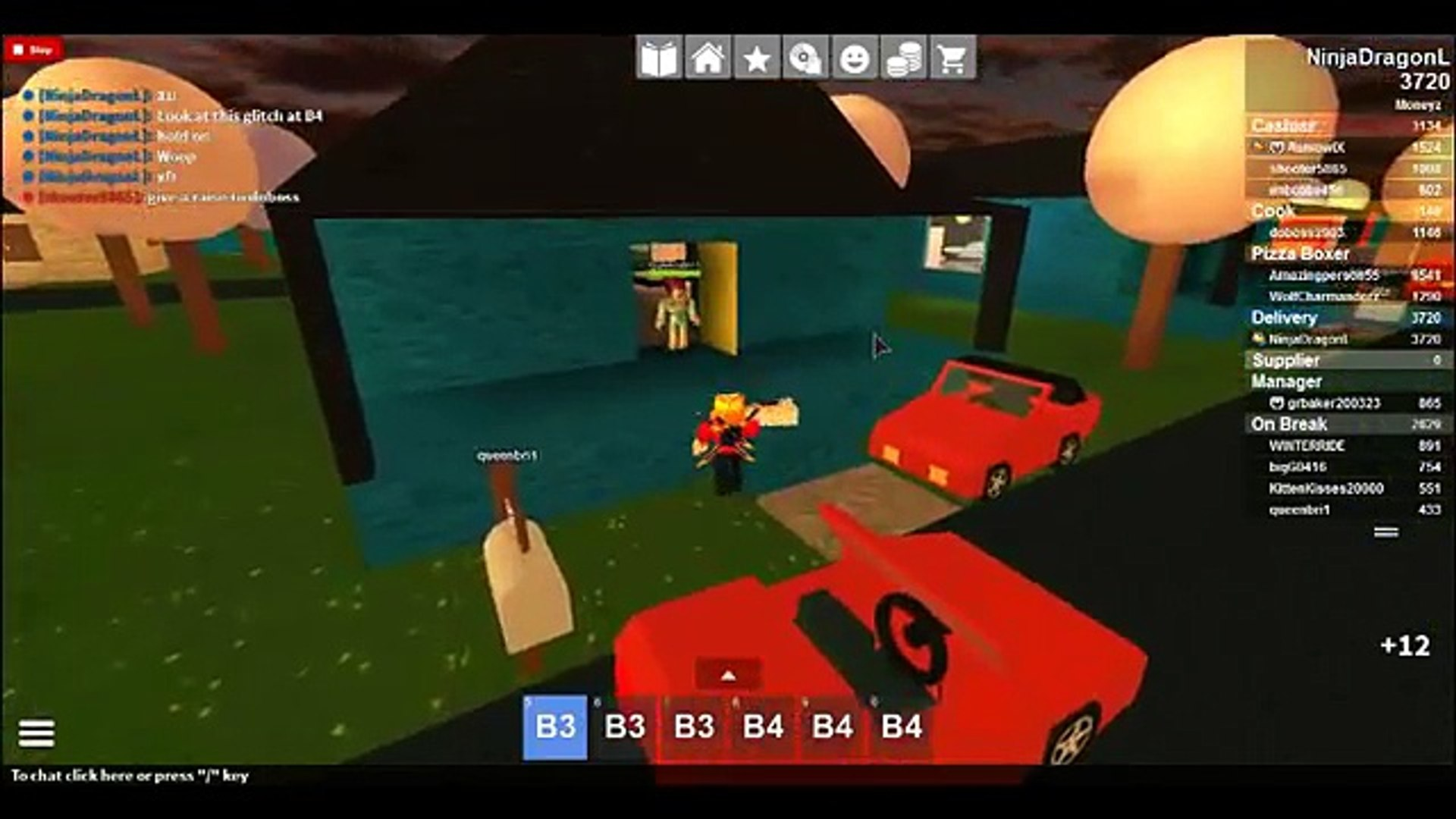Work At Pizza Place How To Get Money Fast Roblox Video