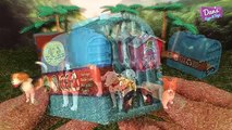 8 INCREDIBLE DOGS ANIMALS 3D PUZZLES SURPRISE TOYS - Beagle Corgi Shih Tzu Great Dane Pug