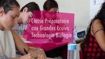 Une présentation de la classe préparatoire TB (Lycée Marie Curie de Marseille)