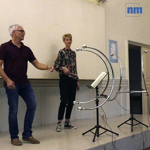 Découvrez l'instrument qui permet aux polyhandicapés d'être musicien