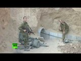 IDF footage of Hamas tunnel being destroyed