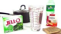 How to make a Sprite Soda Gummy Bottle Shape & DIY Sprite Soda Jello Gummy TUYC
