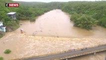 Les dégâts de l'ouragan Maria en République dominicaine