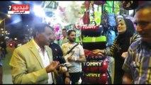 مدير أمن الإسماعيلية يقود حملة ليلية لإزالة الاشغالات بقسم أول