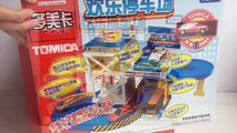 Tomica Happy Parking Joy Takara Tomy 歡樂停車場 w Disney Cars Lightning McQueen - Unboxing Demo Keiths