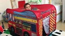 Doruk itfaiye arabasıyla yangını söndürdü | İtfaiye videoları