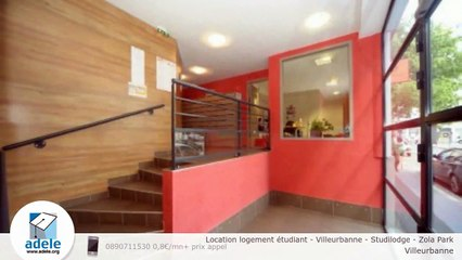 Location logement étudiant - Villeurbanne - Studilodge - Zola Park