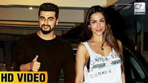 Malaika Arora & Arjun Kapoor Parties TOGETHER