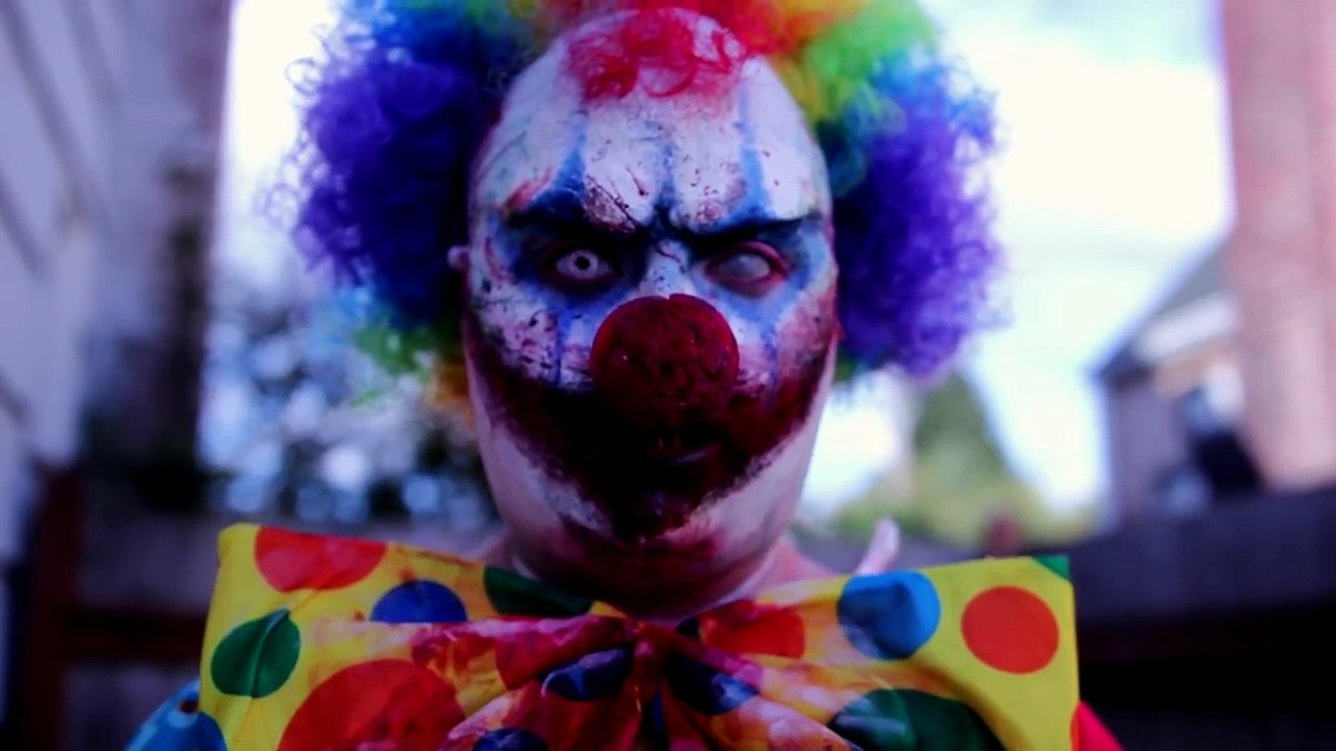 KILLER CLOWN   Halloween Costume Makeup Tutorial   31 Days of Halloween   RawBeautyKristi