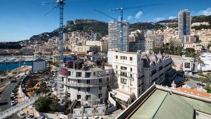 Regardez en accéléré le chantier qui métamorphose le cœur de Monte-Carlo