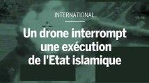 Un drone de l'armée britannique interrompt une exécution de l'EI en Syrie