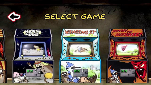 Just a Regular Arcade – A Sweet Suite of Regular Show Games