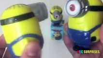 EASTER EGGS SURPRISE OPENING Minions Learn Color Yellow Thomas Train Anna Frozen ABC SURPRISES