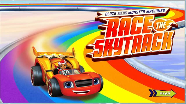 Blaze and the monster machines - games - blaze - race the skytrack- Best New Kids Games