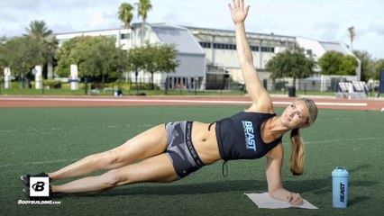 3 Ab Exercises You Can Do Anywhere | IFBB Bikini Pro Tabitha Campominosi