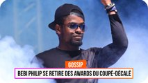 Bebi Philip se retire des Awards du Coupé décalé
