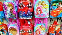 $1 Dollar Tree Doc Mcstuffins Backpack Bag with Disney Frozen, Crashlings Blind Bags, Hello Kitty