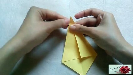 Papercraft Origami: How to Make a Bird (Easy Version ... | 240x426