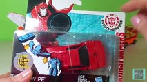 Transformers Robots in Disguise Sideswipe One-Step Changers w/ Blades and Chase