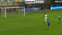 Bourg Peronnas 2-0 Le Havre But Adama Sarr - 22/09/2017 HD