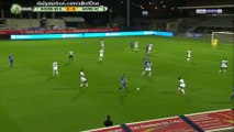 Bourg Peronnas 1-0 Le Havre but Guillaume Heinry - 22.09.2017