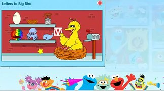 ABC game for kids Learn Alphabet with Big Bird Sesame Street