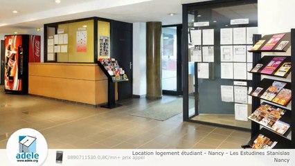 Location logement étudiant - Nancy - Les Estudines Stanislas