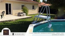 A vendre - Maison/villa - Camblanes et meynac (33360) - 4 pièces - 110m²